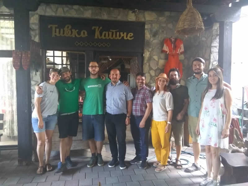 In the village hostels in Gostivar, guests regularly stay longer than planned